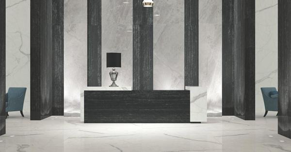 Maxi lastre di grande formato 100x100 300x150 per larchitettura