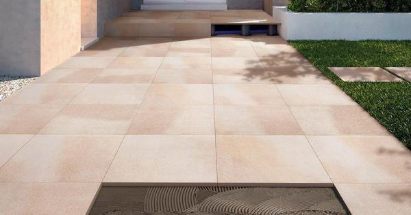Pavimentazioni esterne piastrelle per pavimenti sopraelevati fmg