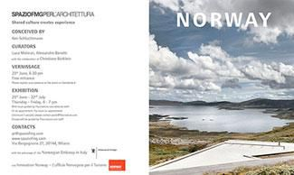 NORWAY ARCHITECTURE, INFRASTRUCTURE, LANDSCAPE. WITH PHOTOGRAPHS BY KEN SCHLUCHTMANN