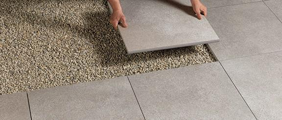 Pavimentazioni esterne piastrelle per pavimenti - Piastrelle posa a secco ...