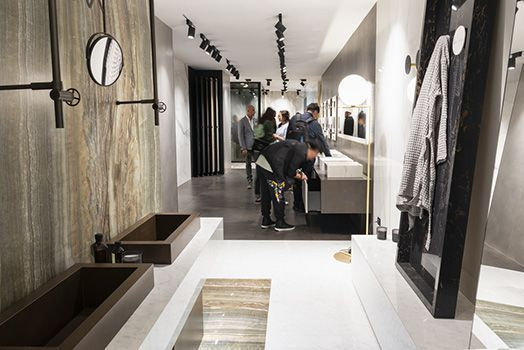 Stand Iris Ceramica Group - Salone del Mobile 2018
